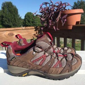 Merrell Siren Sport Goretex Vibram Low Top Hikers